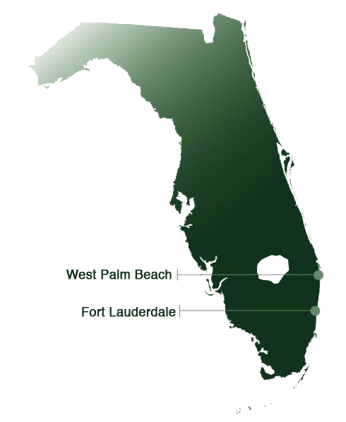Office locations in Florida